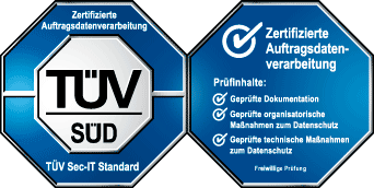 TÜV Zertifizierung