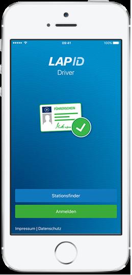 LapID Driver-App