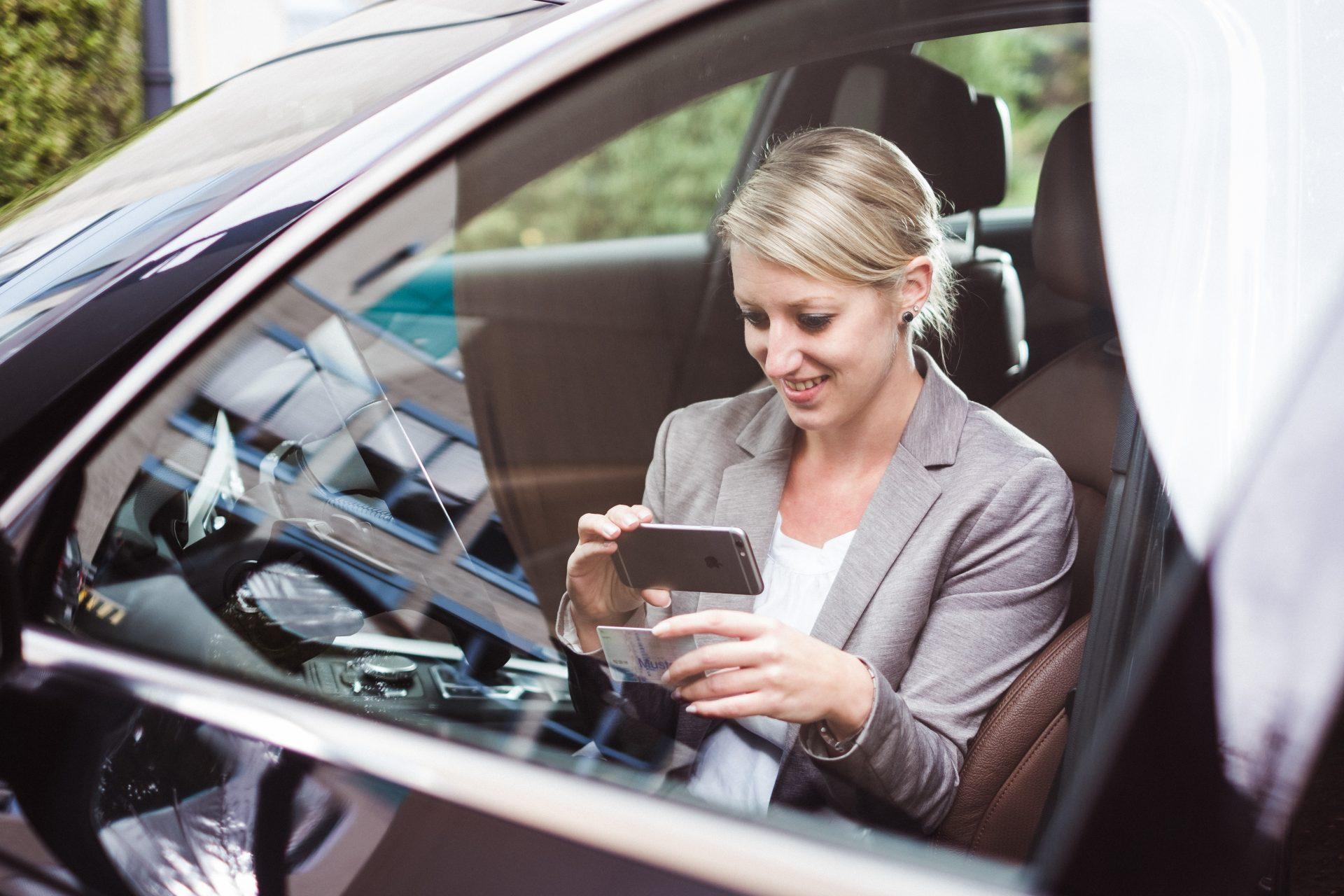 Führerscheinkontrolle mit der Driver App