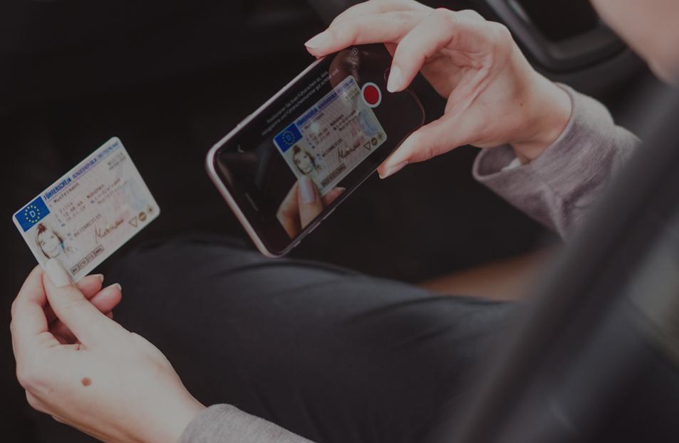 Führerscheinkontrolle mit Driver App