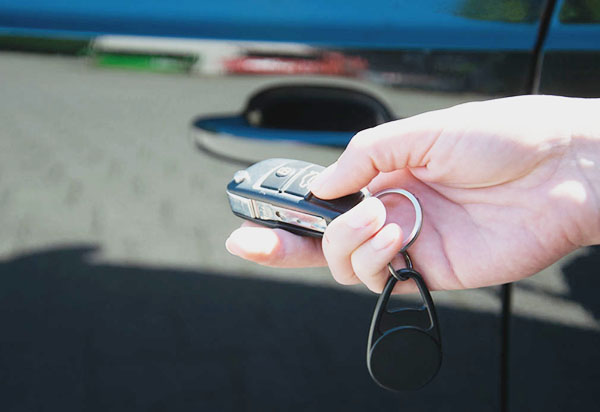 Auto öffnen mit Schlüssel