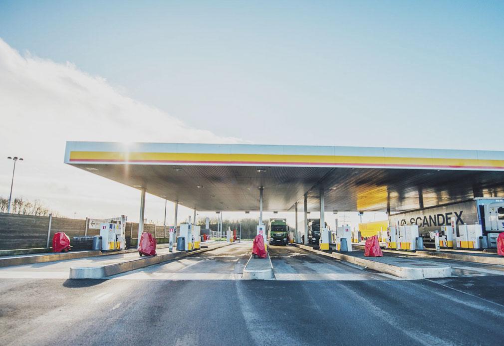 Shell Tankstelle EuroShell