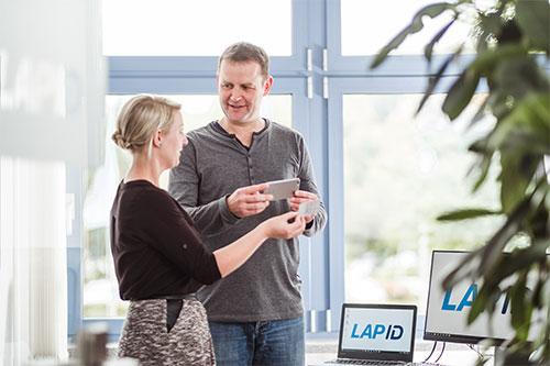 Die LapID Manager App im Fuhrpark