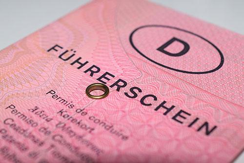 Deutscher Papierführerschein