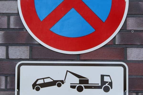 Verkehrszeichen Absolutes Halteverbot