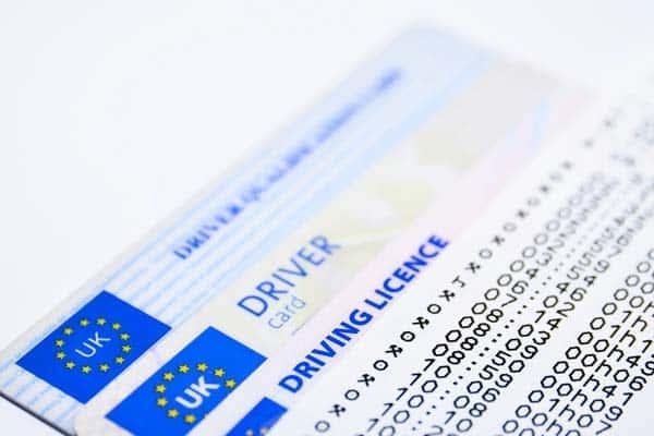 Kartenführerscheine Großbritannien