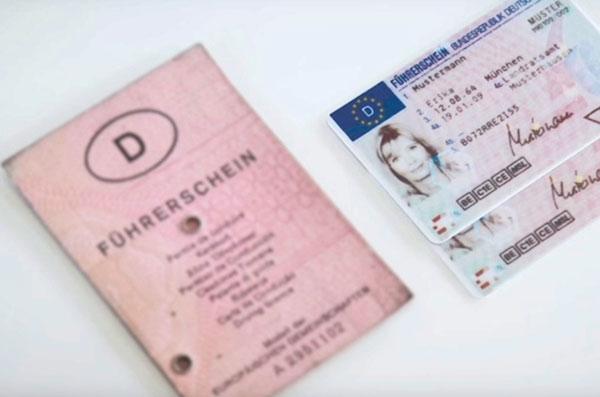 Verlust Fahrerlaubnis Papierführerschein und Kartenführerschein