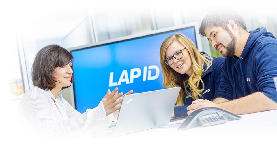 Der LapID Vertrieb