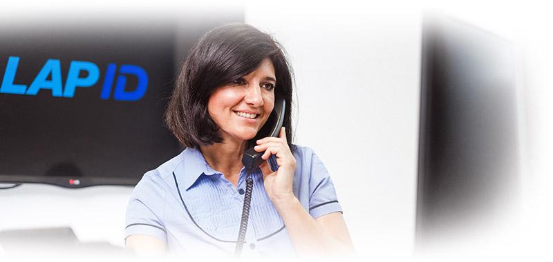 Kundenbetreuung bei LapID