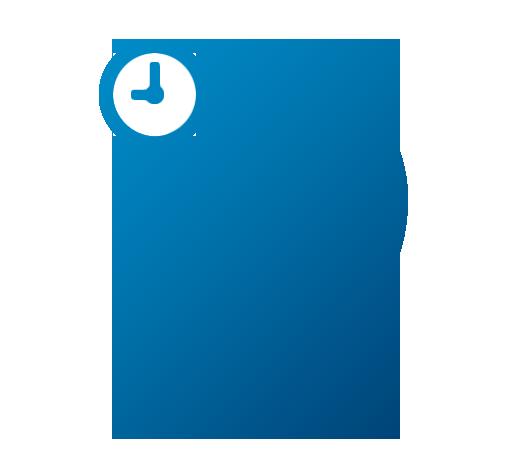 Icon Standort und Zeitersparnis