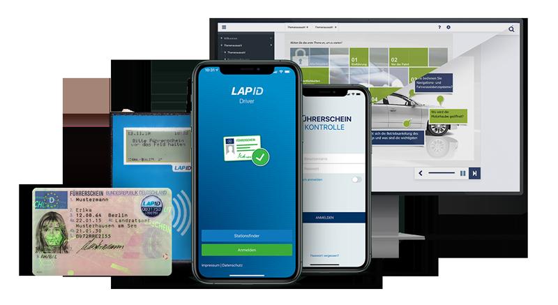 Produktübersicht LapID